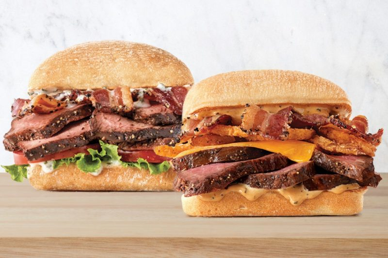 Arby's is adding to its slew of sandwiches with two new petite fillet steak varieties.