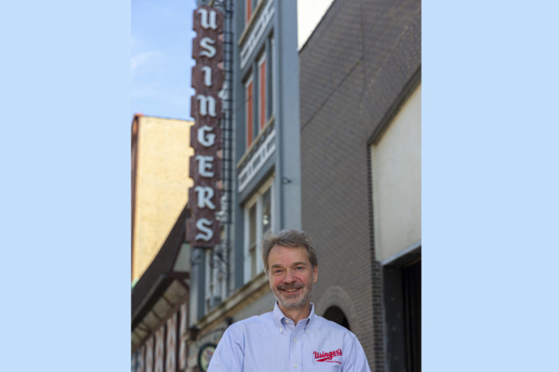 Fritz Usinger is the fourth generation to run his family's sausage business, Fred Usinger's Inc. The company was founded in 1880 by his great-grandfather, Fred, a German sausage maker who settled in the Milwaukee area when he was about 18 years old.