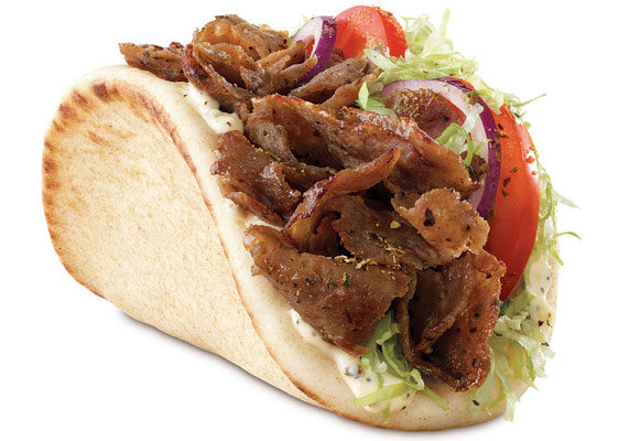 Arby's is adding the new Traditional Greek Gyro to its menu for a limited time. The gyro features beef, lamb and Mediterranean spices sliced from a spit rotisserie nestled into a warm flatbread with lettuce, tomatoes, red onions, tzatziki sauce and Greek seasoning.