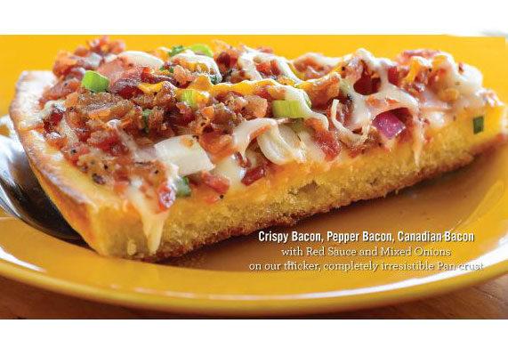 Papa m bacon bacon pizza em