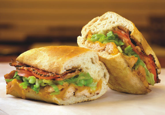 Potbelly is introducing the Turkey Club. Made with all-natural, slow-roasted white meat turkey, the sandwich features bacon and melted cheddar cheese on toasted bread.