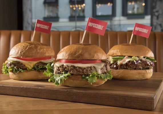 Umamiburger impossibleburgers