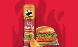 Pringles wendys spicy chicken smaller