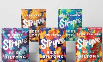 Stryve biltong products