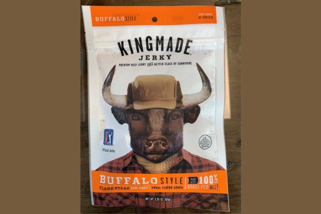 Kingmade jerky buffalo smaller
