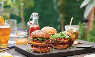 Ingredients awesome burger