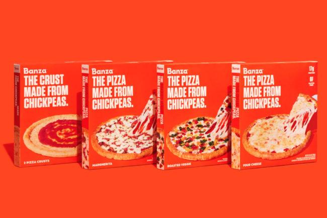 Assortment of Banza Pizzas