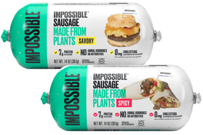 Savory and Spicy Impossible Sausage