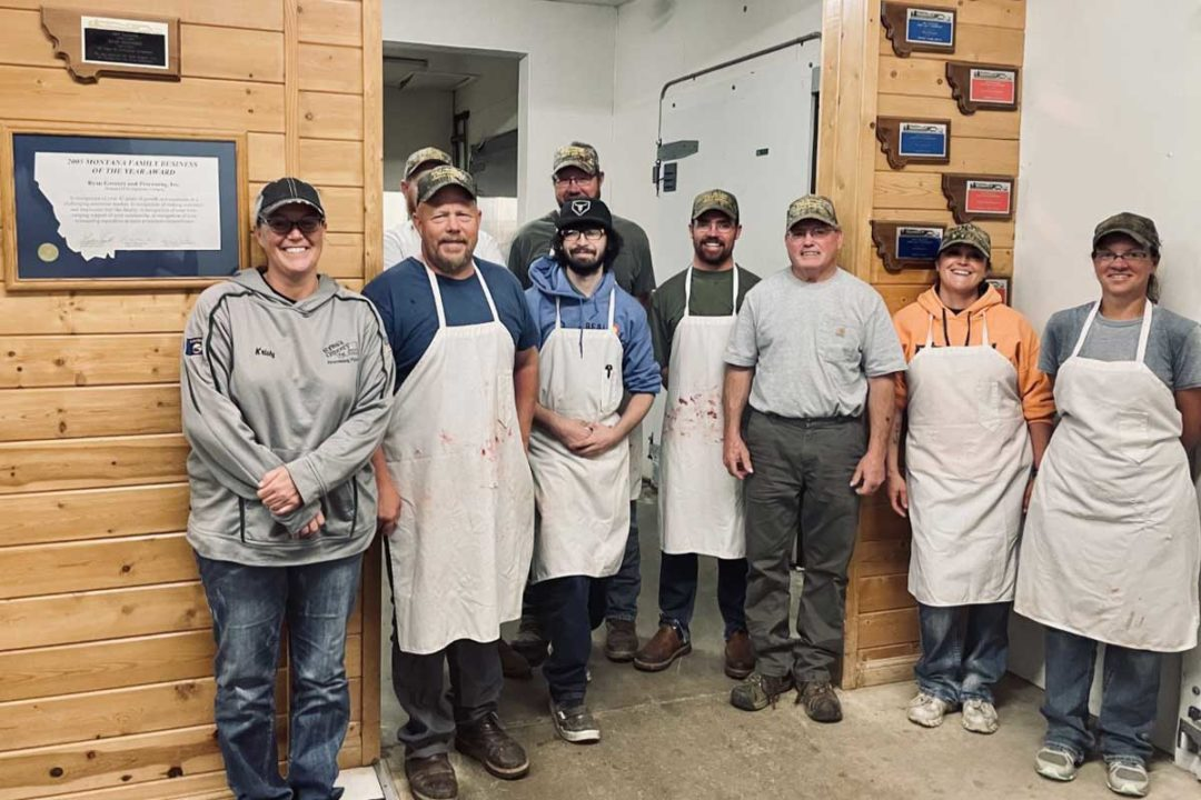 The staff of Ryan's Grocery & Processing