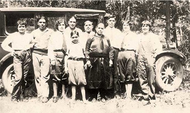 Mulay family photograph from 1926