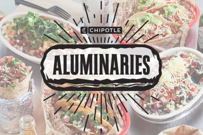 Chipotle Aluminaries accelerator program
