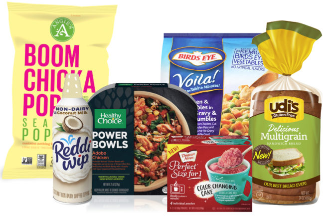 Conagra and Pinnacle products