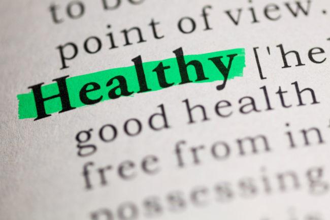 Healthy definition