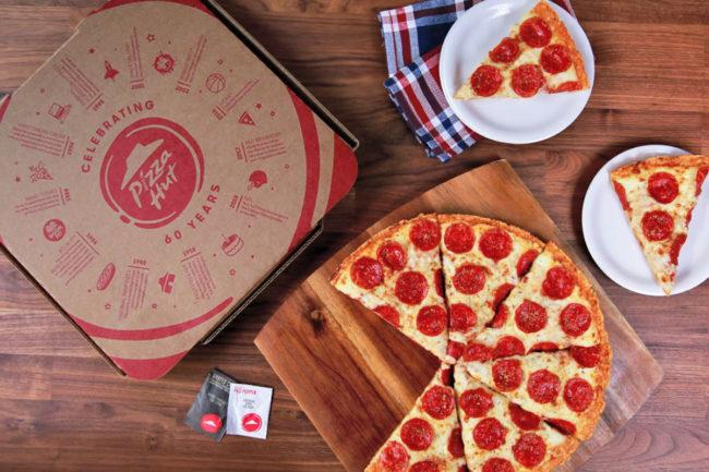 Pizza Hut pizza