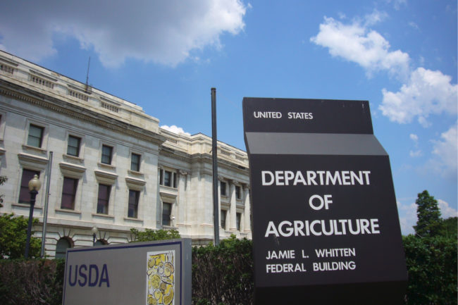 U.S.D.A. building