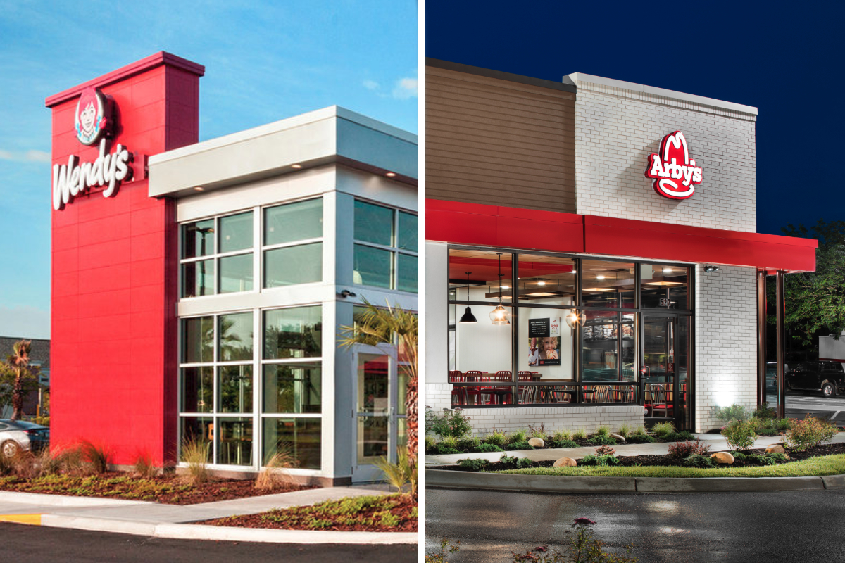 Wendys and Arbys restaurants