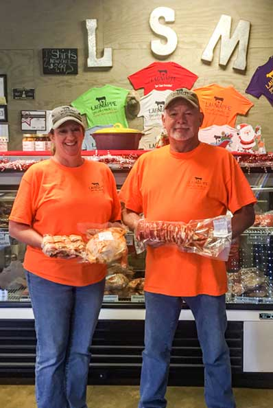 Christina and Bobby Duhon, Lagniappe Specialty Meats