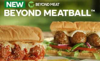 Subway beyond meatball sub