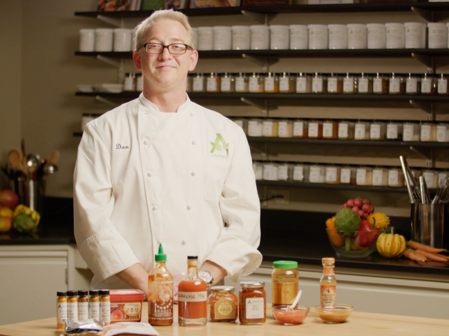 Dax Schaefer, corporate chef with Asenzya