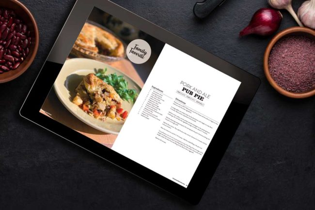Coleman Natural Foods has launched a digital cookbook.
