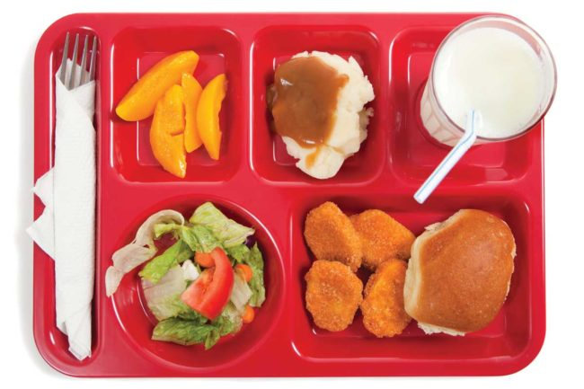 Schools will still need to follow the Dietary Guidelines for Americans regarding sodium levels in school lunches.