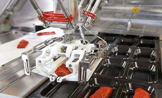 Packaging multivac photo integrated packaging line
