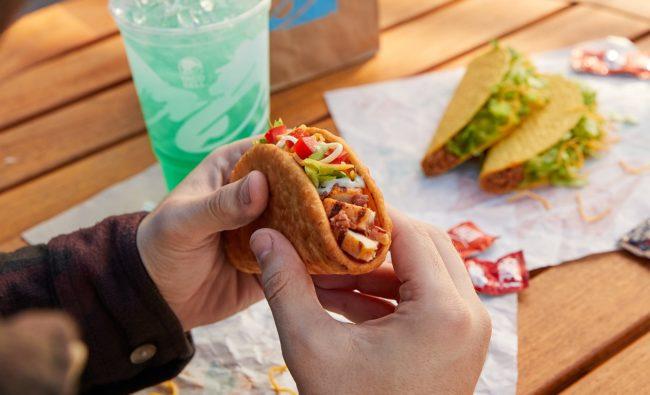 Taco Bell bacon Chalupa