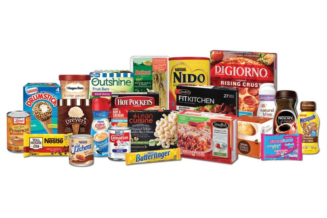 Nestle to set higher expectations for the company's frozen food segment.