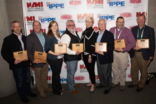 Smithfield Foods  received NAMI awards during the 2019 IPPE.
