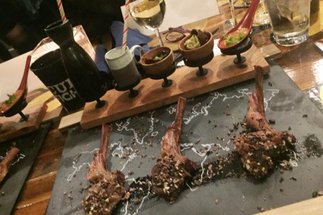 2 lamb chops