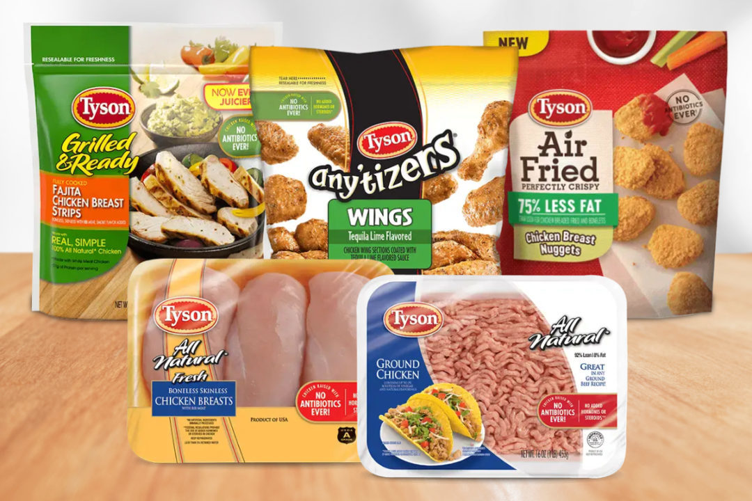 Tyson Foods products