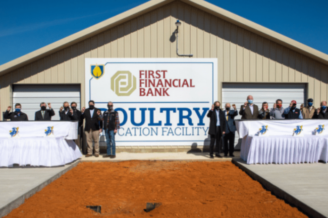 Poultry grand opening
