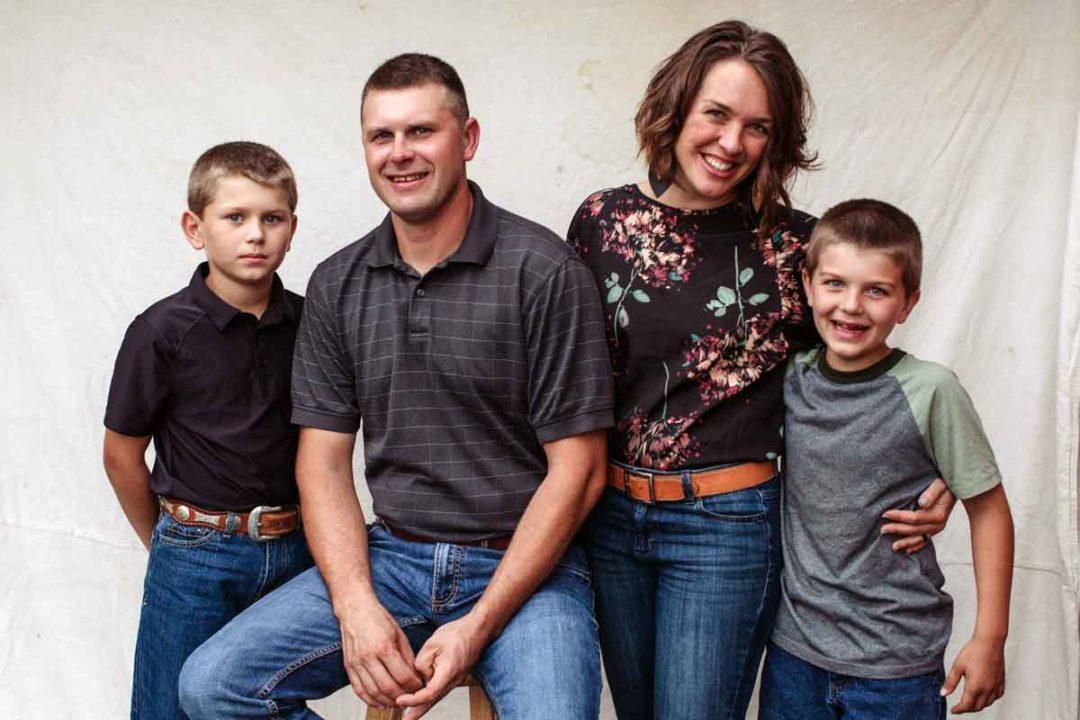 Lauren Arbogast and her family