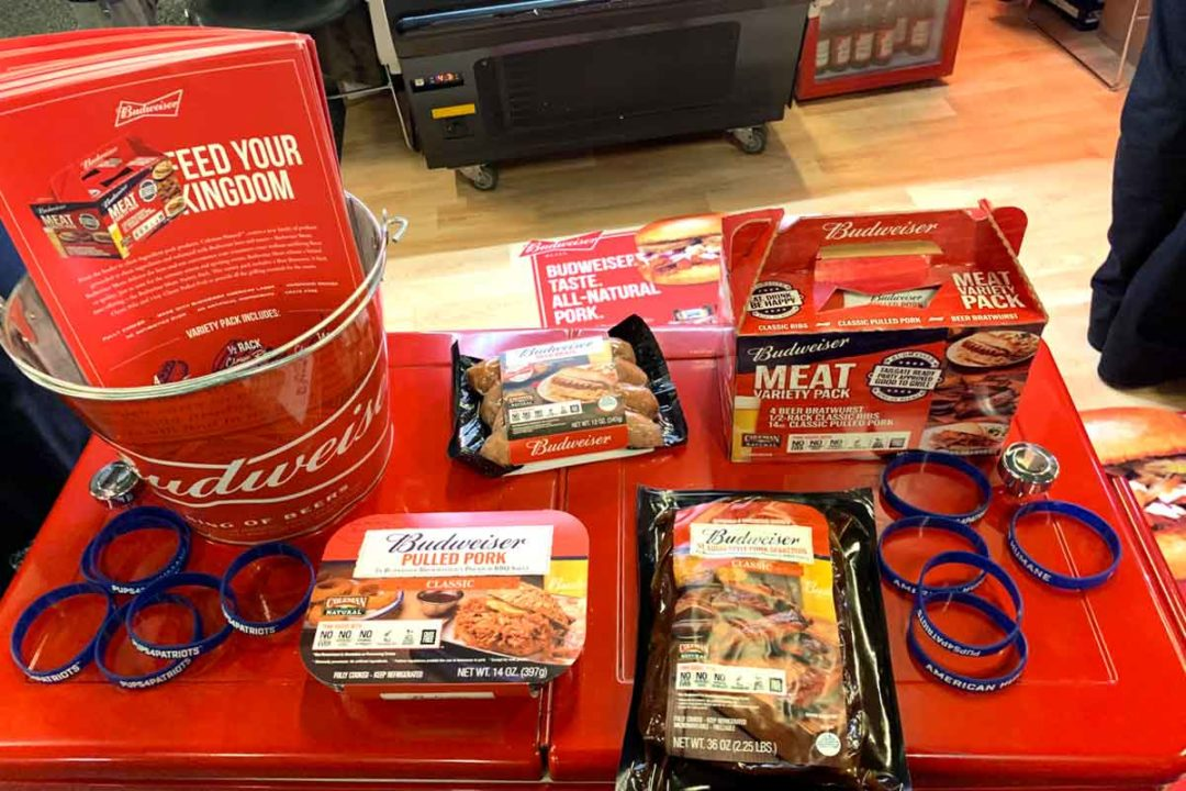 Coleman Natural Foods unveiled the company's partnership with Budweiser Beer during the 2019 Meat Conference in Dallas.