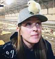 Lauren Arbogast married into a third-generation beef, poultry and crop farming family in Shenandoah Valley, Virginia.
