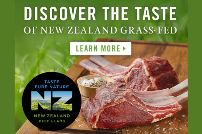 Grass fed NZ