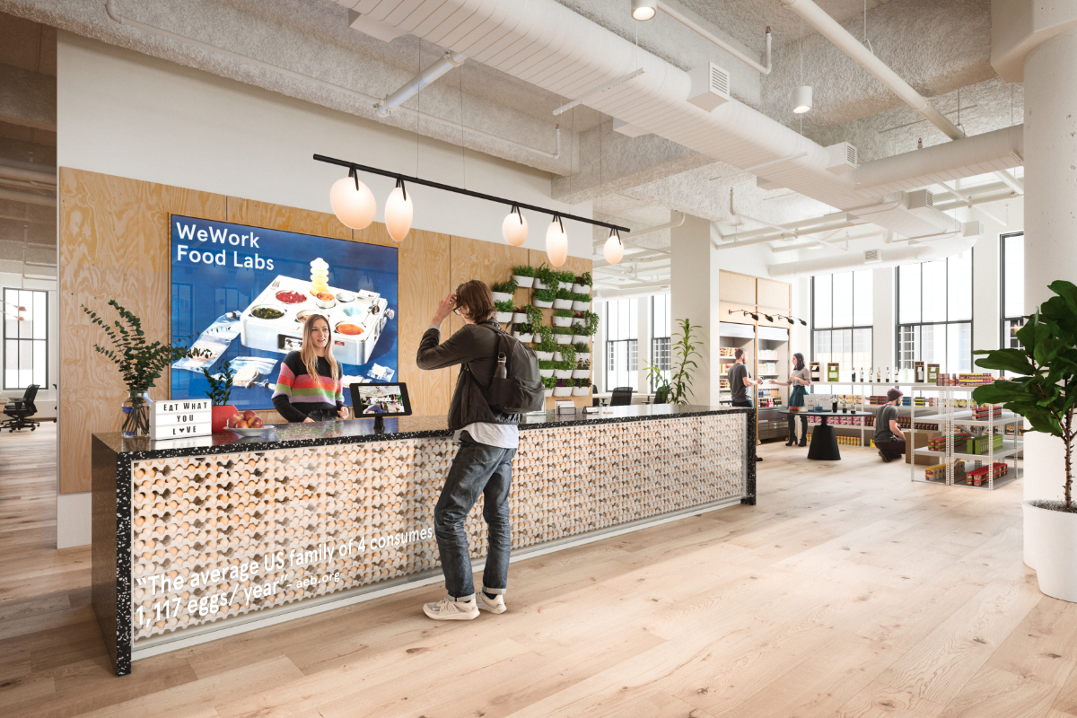 WeWork Food Labs