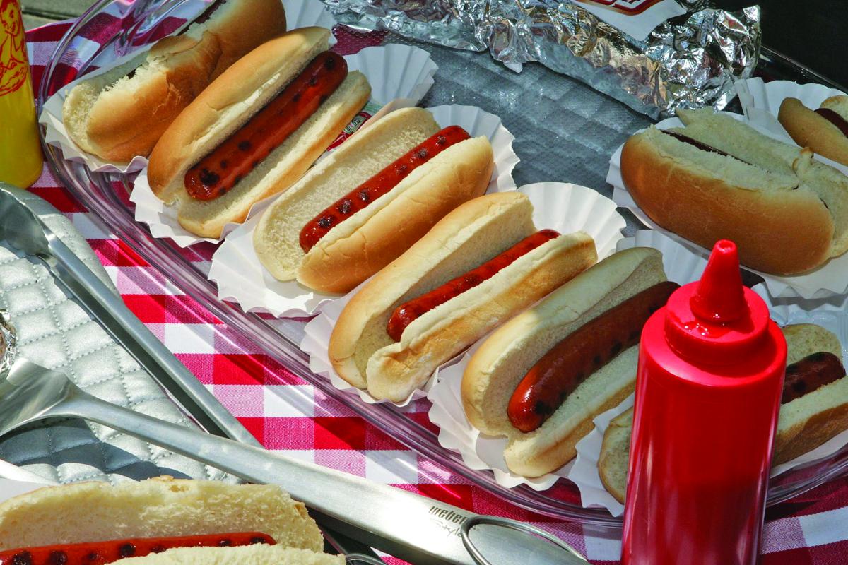 Ingredients hot dog