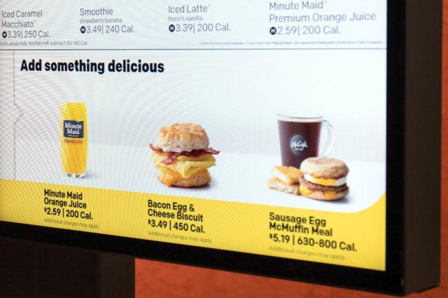 McDonalds personal