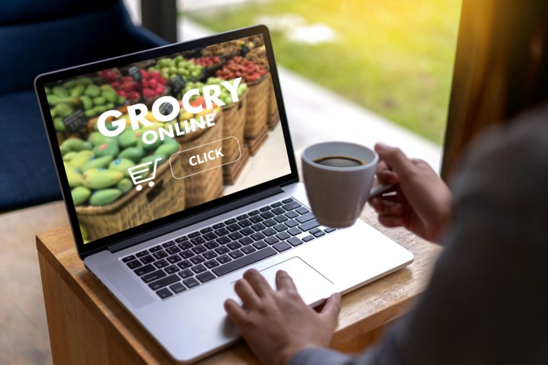 Grocery laptop