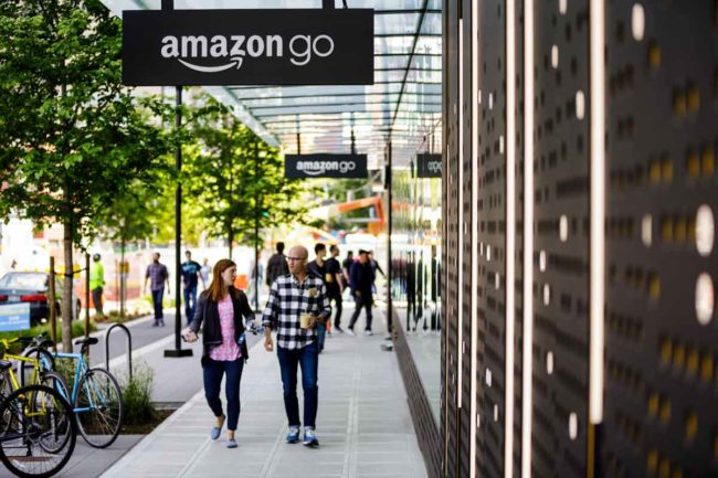 First Amazon Go store