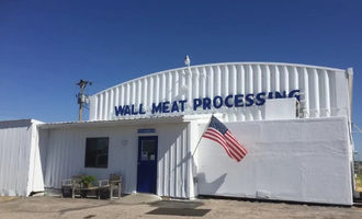 Wall meats processing
