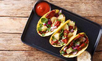 Tacos el pastor adobe stock
