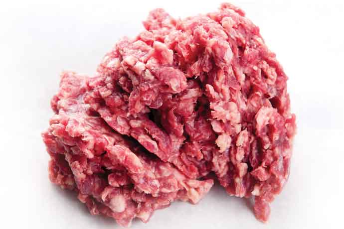 food safety raw ground beef