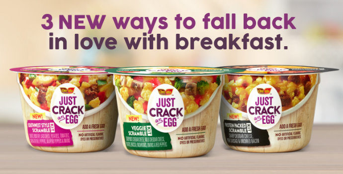 Just crack an egg