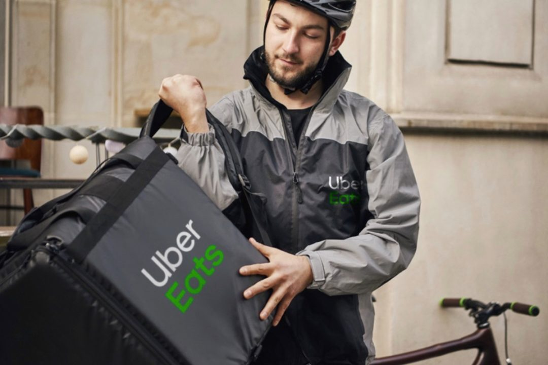 Uber delivery