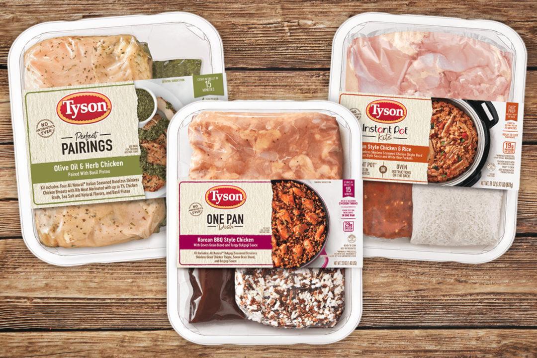 Tyson Meal kits
