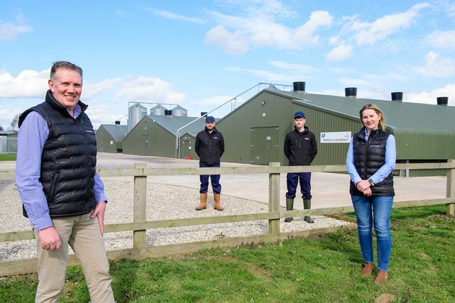 Moy park launches agricultural academy smaller