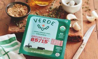 Packaging verde farms ground beef