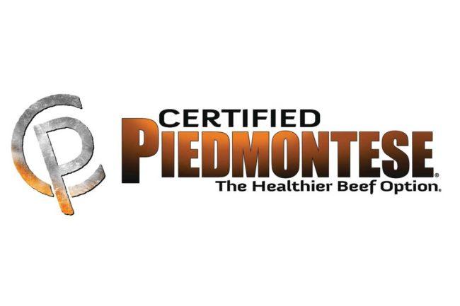 Logo for Certified Piedmontese beef
